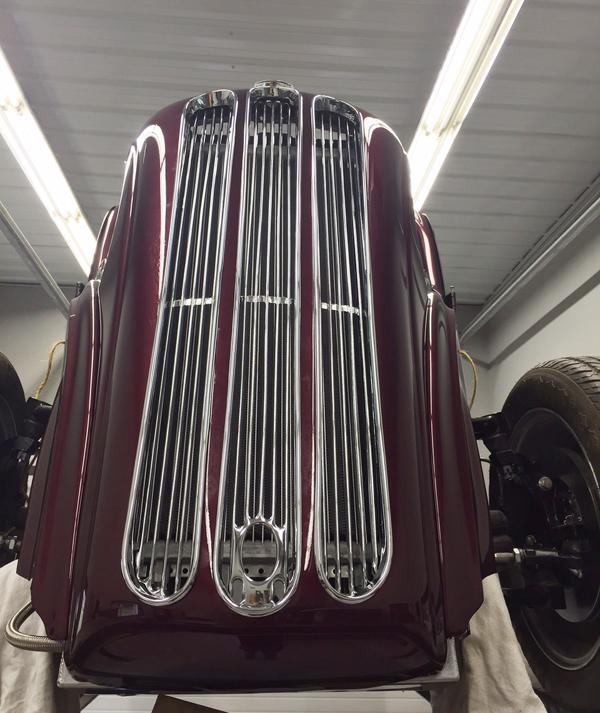 Ford Anglia Grille - custom restoration
