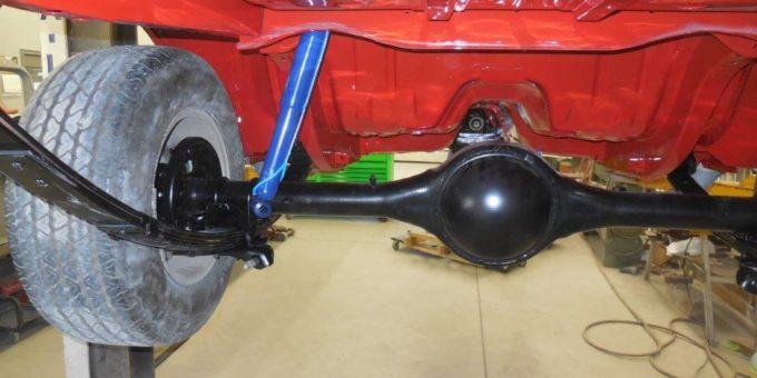 Challenger Rear End Rebuilt