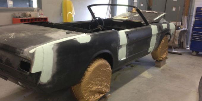 Tony's 1965 Mustang