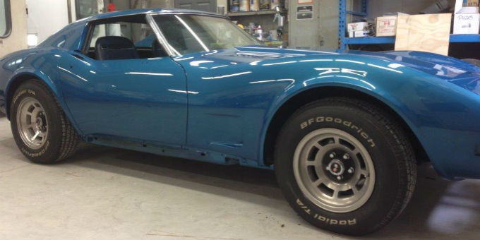 Rob's 1974 Corvette is done
